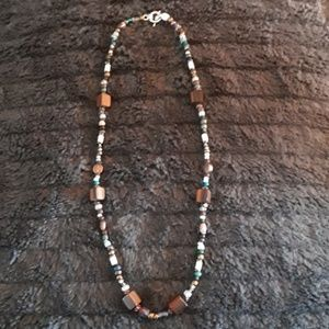 Jewelry - Hand beaded necklace